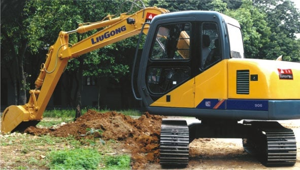 Экскаватор Liugong CLG925LL