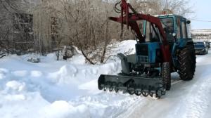 Снегоочиститель фрезерно-роторный С-200 1
