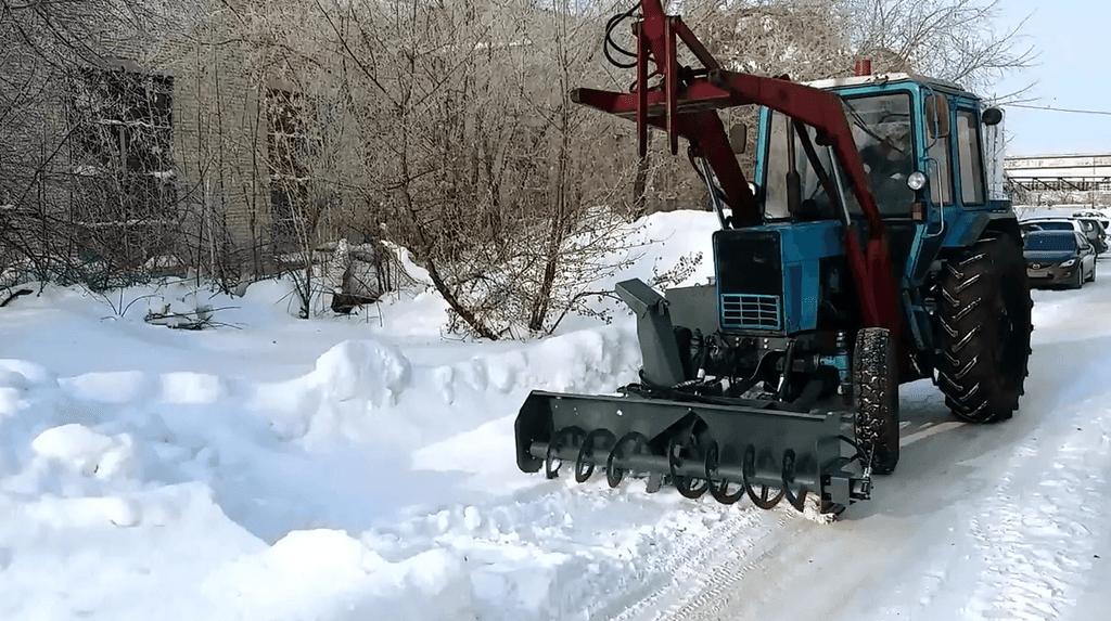 Снегоочиститель фрезерно-роторный С-200