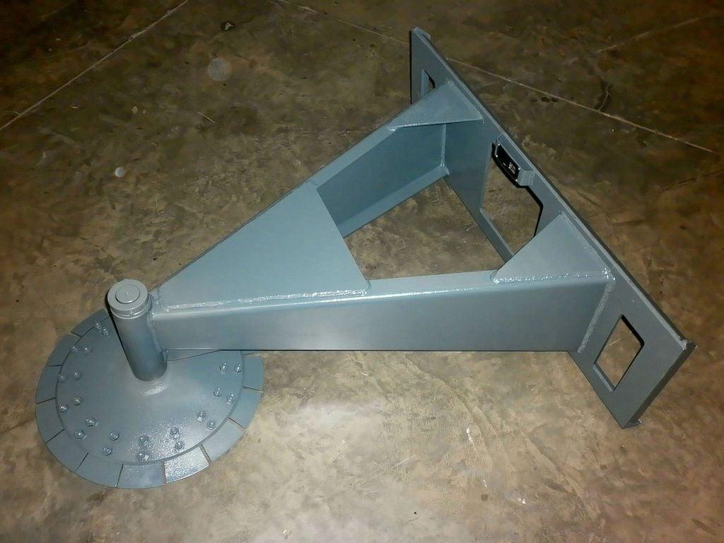 Скалыватель снежного наката дисковый ССНД-45
