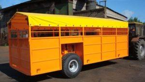 Прицеп для перевозки скота САТ ТПС-6 1