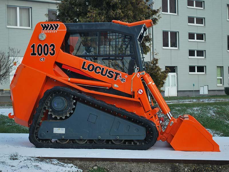 Мини-погрузчик LOCUST L1003 CT/L1003HF CT
